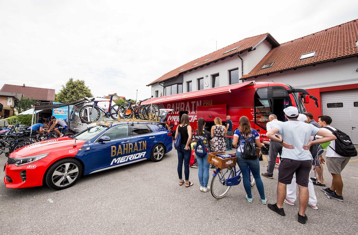 Frutabela during 5th Time Trial Stage of 25th Tour de Slovenie 2018 cycling race between Trebnje and Novo mesto (25,5 km), on June 17, 2018 in Slovenia. Photo by Vid Ponikvar / Sportida