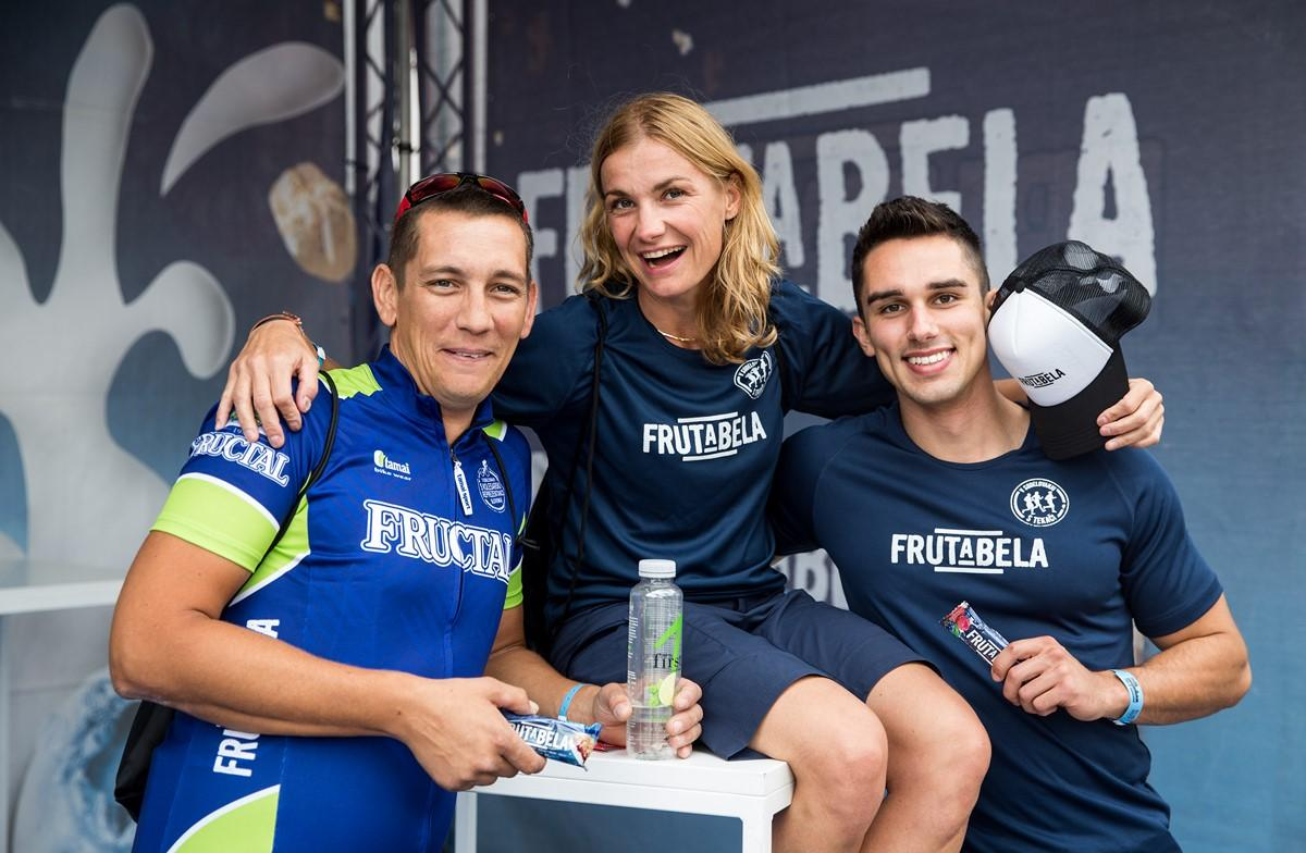 Frutabela team for Ironman 1 day before competition Ironman 70.3 Slovenian Istra 2018, on September 22, 2018 in Koper / Capodistria, Slovenia. Photo by Vid Ponikvar / Sportida