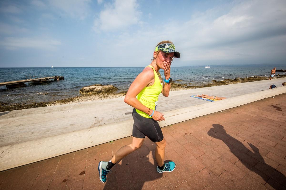 Spela Cvetreznik, Futabela team at I feel Slovenia Ironman 70.3 Slovenian Istra 2018, on September 23, 2018 in Izola / Isola, Slovenia. Photo by Vid Ponikvar / Sportida